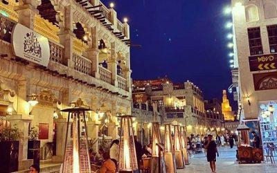 مطعم و كافيه ليالي القاهرة في قطر
