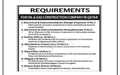 وظائف شاغرة في شركة الغاز والنفط فى قطر